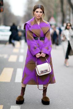 Milan Fashion Week: Women's Street Style Fall 2016 Day 2 – The Impression - dem shoes doe...