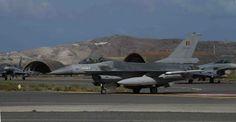 Bélgica enviará a sus F-16 a Jordania para combatir al Daesh-noticia defensa.com