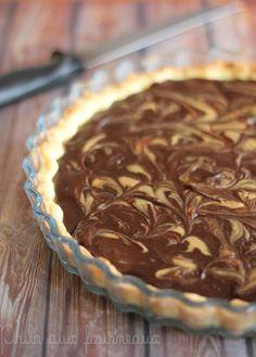 Philo aux fourneaux: Tarte chocolat & cacahuètes
