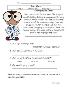 Printables 1st Grade Reading Comprehension Worksheets first grade reading shorts and kindergarten on pinterest may supplement is posted fun in grade