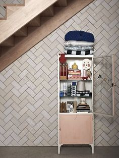 Nothing like a good herringbone pattern. Exchange Hotel Herringbone Tile/Remodelista