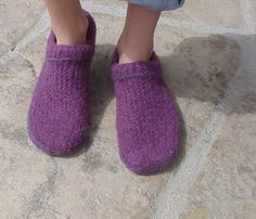 Felted Clogs Made Easy! - Knitting Patterns and Crochet Patterns from KnitPicks.com