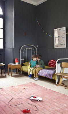 Aurélie Lecuyer et Jean Christophe,<br> Gustave 6 ans et Honoré 3 ans