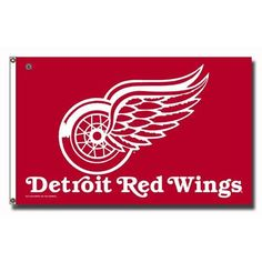 Detroit Red Wings NHL 3x5 Flag