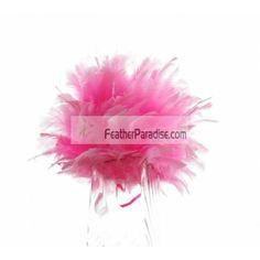 Pink Feather Balls / Rose Balls Wedding Centerpieces Large Decorative Feather Balls Wholesale Bulk Discount Cheap