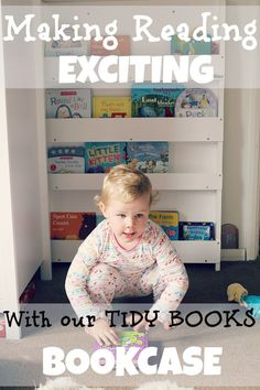 Making reading exciting with our tidy books bookcase