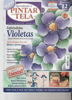 Creaciones Mariluz: Pintar en Tela nº 12 año 2004