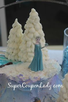 Disney's Frozen Sheet Cake Ideas | the cake consider using disney frozen figures to decorate the cake not ...