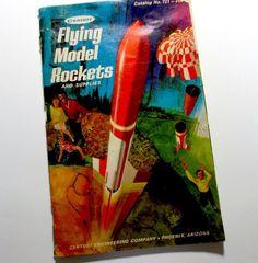 Centuri Flying Model Rockets Catalog 1971 no. 721 #Centuri