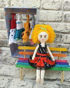 #ragdoll #handmadedoll #dolldress #tilda #tildadoll #waldorfdolls #clothdoll #textiledoll #dollwithhair