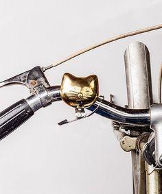 Look at this #zulilyfind! Cat Bike Bell #zulilyfinds