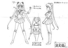 Sailor Moon Settei Sheet