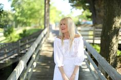 A Dreamy White Dress To Welcome Summer | Mary Murnane