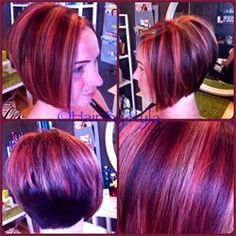 extreme stacked bobs | Posted on Monday, June 03, 2013 5:41 PM
