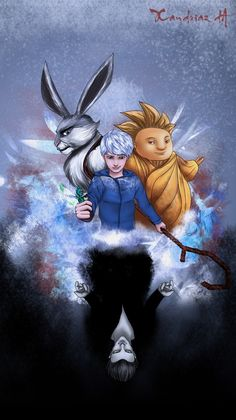 Jack Frost (Rise of the Guardians) by ~Xandriaz on deviantART