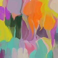 Sunshine Dreams. Abstract Paintings Art Wall Decor Extra