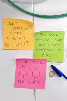 online survey website that pay - Affposter Make Money From Home, Way To Make Money, Make Money Online, How To Make, Money Tips, Money Saving Tips, Earn Extra Cash, Paid Surveys, Financial Tips