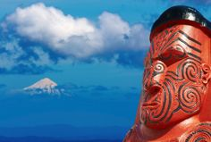 Totem maori Nelle zélande