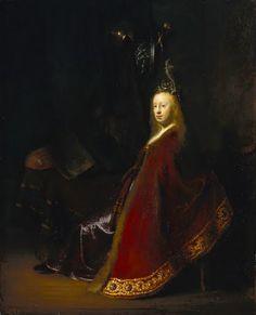 Minerus(1631), Rembrandt.