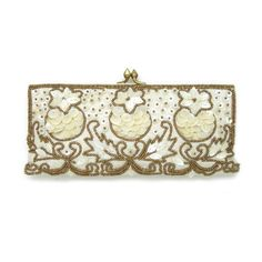 Bridal & Wedding Clutches – Roman & French - Bridal & Jewellery,... ❤ liked on Polyvore featuring accessories and hair accessories
