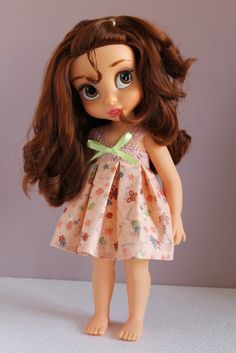Simple dress that I can make for MY dolls.