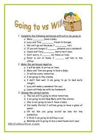 51 Ideas De Will And Going To Gramática Inglesa Actividades De Ingles Ejercicios De Ingles