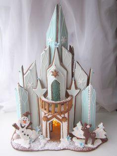 Frozen gingerbreadcastle