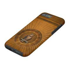 Owl - Get Wisdom. Tough iPhone 6 Case★ #Steampunk #Samsung #iphone #Cases #S6 #S7 #ipad #samsunggalaxys #victorian #phonecases #accessories #gosstudio