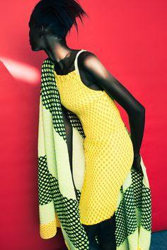 "continentcreative: "" Dauda Hauwa Asingar for South African designer Marianne Fassler Resort 2015 by Paul Samuels """
