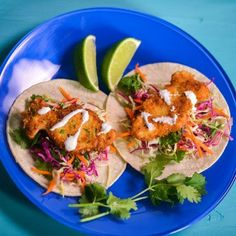 No need to go fishing - try this delicious vegetarian alternative to fish tacos #tofu #recipe