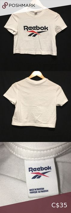 ❤️ Reebok cropped t-shirt Cropped t-shirt 👚 Material: 100% Cotton 🍂 Fall/ Winter fashion 🌻 Spring/ Summer fashion 👌 Great, used condition ⚡ Fast shipping 🚬 FREE home ✍ Make me and offer! Reebok Tops Tees - Short Sleeve Spring Summer Fashion, Autumn Winter Fashion, Fall Winter, Love T Shirt, Sport T Shirt, Workout Tops, Workout Shirts, Black Leather Bomber Jacket