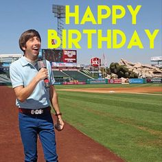 Double tap to wish #simonhelberg a happy birthday! #BigBangTheory by bigbangtheory_cbs