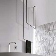 antoniolupi TANDEM-UP doppelter Handtuchständer 720 x 1670 mm, 780€