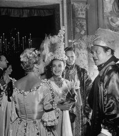 Aimée de Heeren, Baron Alexis de Redé and Orson Welles