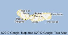 Geographic view of Sao Miguel    <3 this