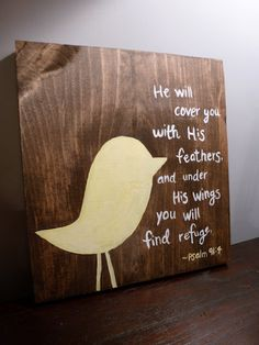The perfect verse for my nursery!!! Perfect! Perfect! Perfect!