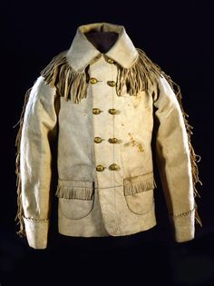 June 25, 1876: Lt. Col. Custer, owner of this coat, and his cavalry are wiped out by Sioux and Cheyenne in the Battle of Little Big Horn.