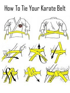 Suit up properly for a karate or judo class.