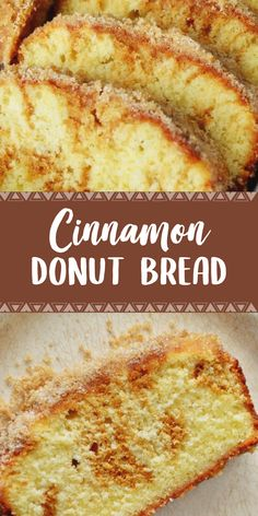 Try the delicious, very light and fragrant Cinnamon Donut Bread dessert bread. Making such bread is quick and easy. It can be eaten for breakfast, during a Cinnamon Donuts, Cinnamon Bread, Cinnamon Swirl Donut Bread Recipe, Doughnuts, Bread Recipes, Baking Recipes, Cookie Recipes, No Bake Desserts, Delicious Desserts