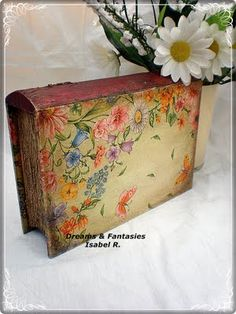 Dreams & Fantasies: Cuadros Dream Fantasy, Altered Boxes, Decorative Boxes, Dreams, Home Decor, Beautiful Images, Candles, Box Sets, Decoration Home