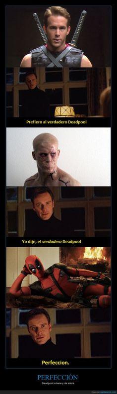 ¿Habéis visto ya Deadpool? ¿Qué os ha parecido? - Deadpool la tiene y de sobra