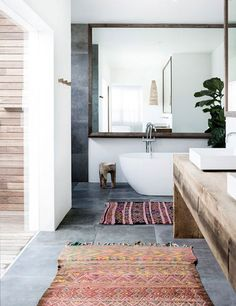 Ethnic #bathroom design can be truly inspiring if the right elements are incorporated into the decorative living space. #SweetHome #HomeDecor  www.covetlo.com
