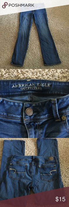 American Eagle kick boot jeans American Eagle kick boot jeans size 14 long in great condition American Eagle Outfitters Jeans Boot Cut