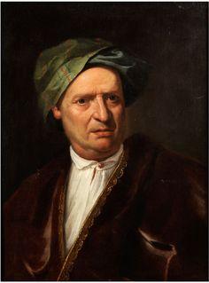 PORTRAIT EINES HERRN Öl auf Leinwand. 68 x 50 cm. Beigegeben eine Expertise von Prof. Fabrizio Magani. Dieses Gemälde weist alle Stärken von Bartolomeo...