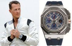 Legendary #Formula1 racer, Michael #Schumacher, for Audemars Piguet