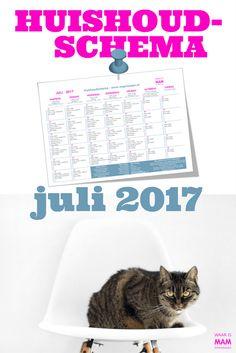 Gratis Huishoudschema Juli 2017 en Juni in Vogelvlucht https://www.waarismam.nl/huishouden-2/organiseren/routines/gratis-huishoudschema-juli-2017/?utm_content=bufferd961b&utm_medium=social&utm_source=pinterest.com&utm_campaign=buffer
