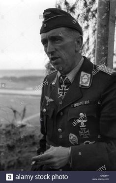 Stock Photo - events, Second World War / WWII, aerial warfare, persons, General Theodor Osterkamp - commander of the fighter force of Luftflotte 1 (Luftwaffe Air Fleet Ww2 Photos, Stock Photos, Luftwaffe, World War Two, Warfare, Wwii, Air Force, Pilots, Hunting