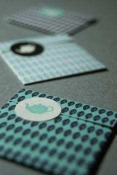 Tea Packaging / Evripos by Anna Trympali, via Behance