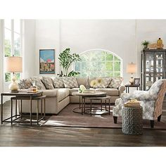 Cindy Crawford Home Collection Is A  Perfect In Art Van Furnitureu0027s 2017 Spring Style Catalog  sc 1 st  Pinterest : art van sectional - Sectionals, Sofas & Couches