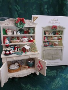 Image result for hallmark ornament mrs claus cupboard